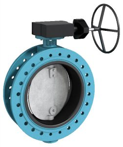 flanged butterfly valve