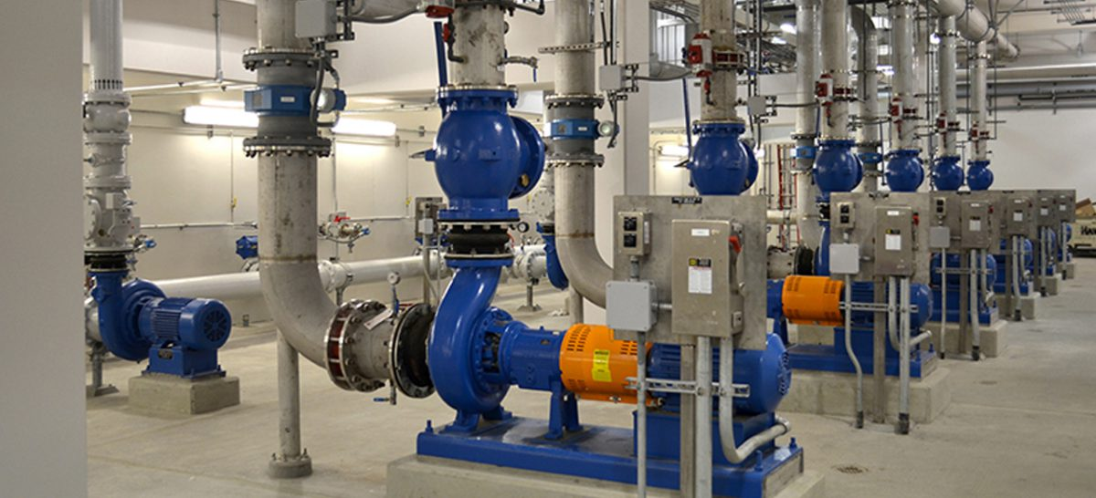 The Valves in the Wastewater Treatment
